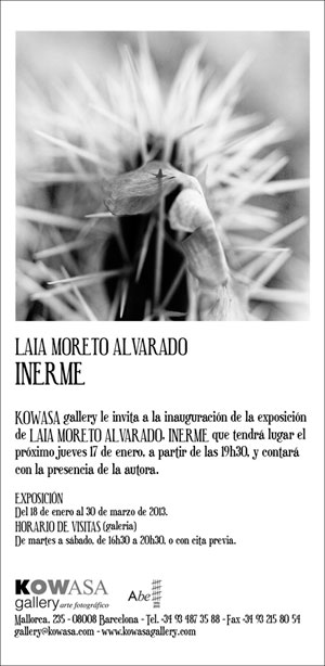 Inerme. Foto: Laia Moreto
