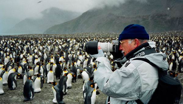 Ramon Mascort. South Georgia Island, British Overseas Territories. Foto: Carmen Pascual, 2002