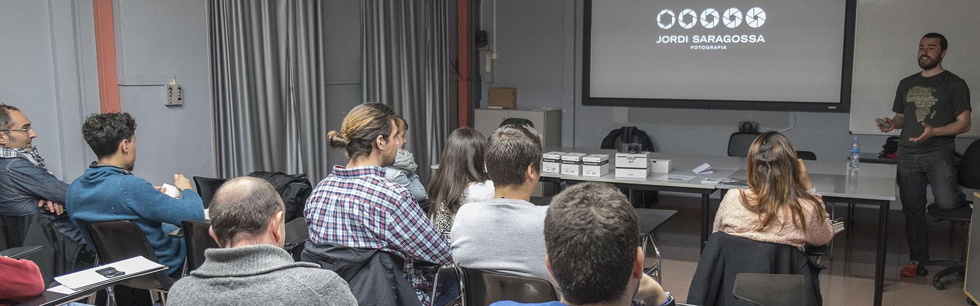 Conferència Jordi Saragossa
