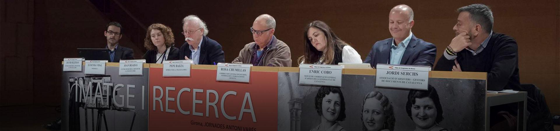 Taula rodona: Diferents models per a un pla nacional de fotografia (2016). Ajuntament de Girona. CRDI / Jordi S. Carrera