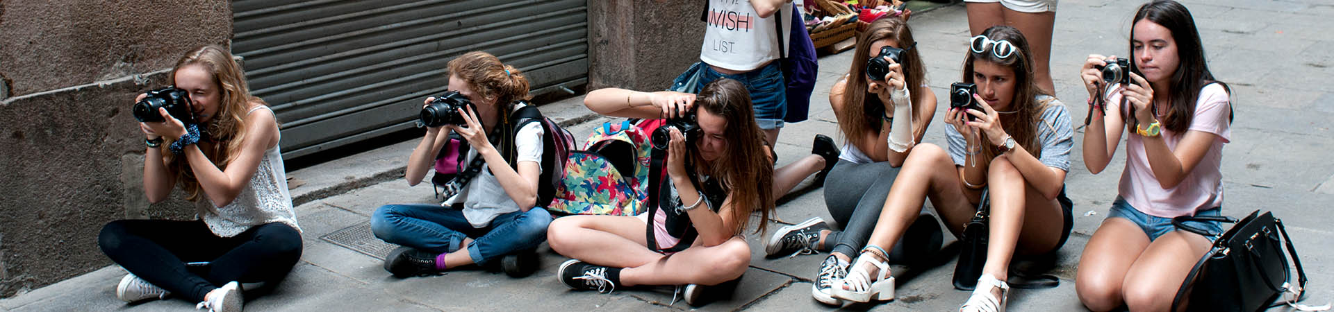 Iniciació a la fotografia per a joves