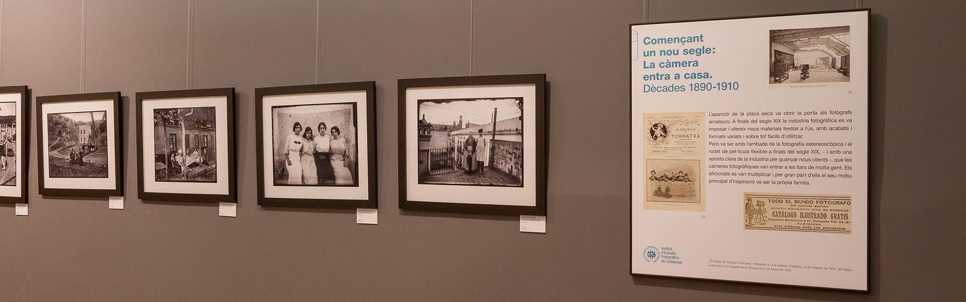 El Museu Palau Mercader acoge la exposición Fotos en familia del Arxiu Històric Fotogràfic del IEFC