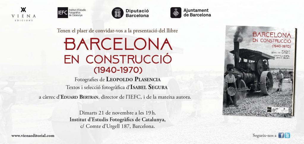 Presentació del llibre: Barcelona en construcció (1940-1970)