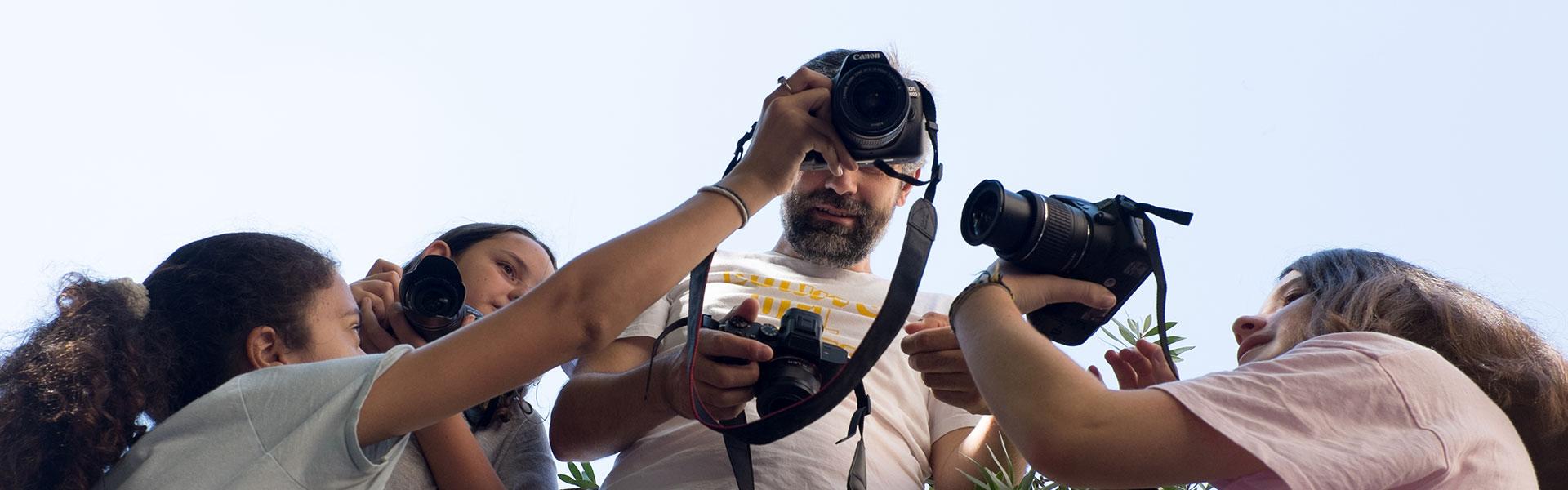 Curso de Fotografía para Niñas y Niños
