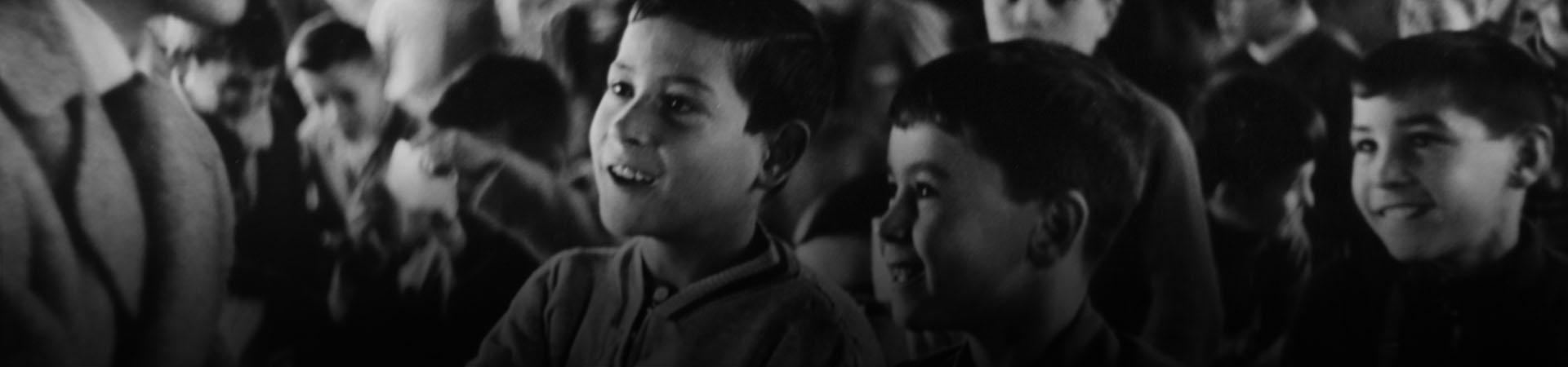 Bones notes! Sabadell, desembre de 1958. Foto: Francesc Esteve