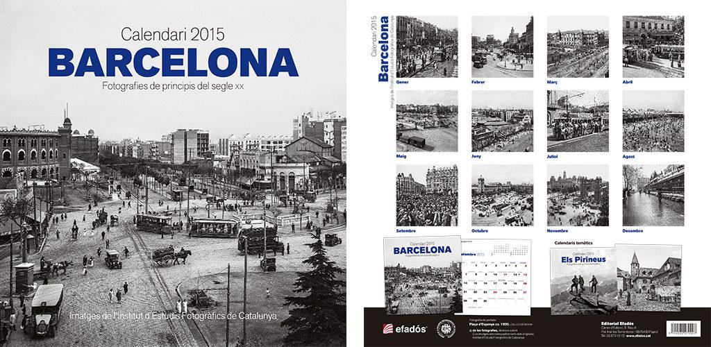 Calendari Barcelona, fotografies de principis del segle XX