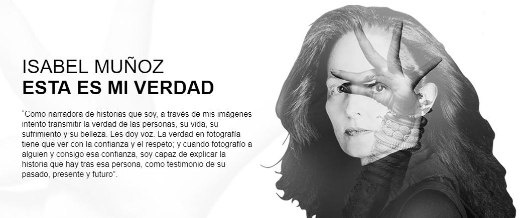 Conferència d'Isabel Muñoz: Esta es mi verdad