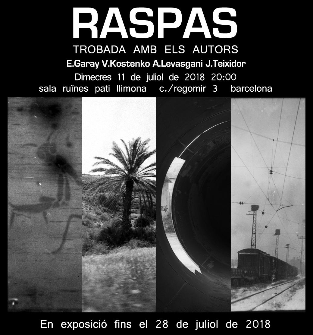 Exposició Raspas. Trobada amb els autors