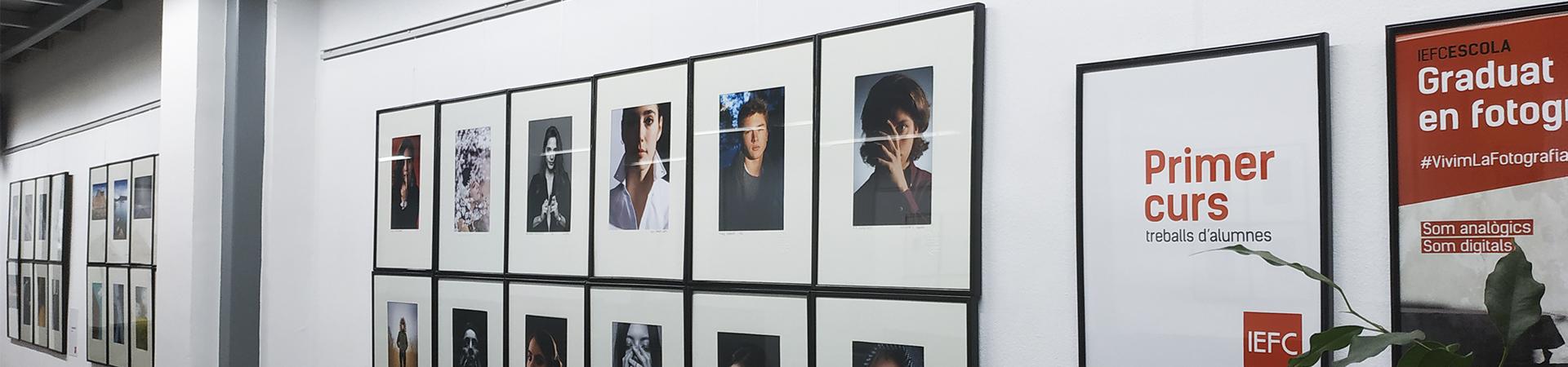 Exposición de los trabajos de los alumnos del Graduado en Fotografía del curso 2017-2018