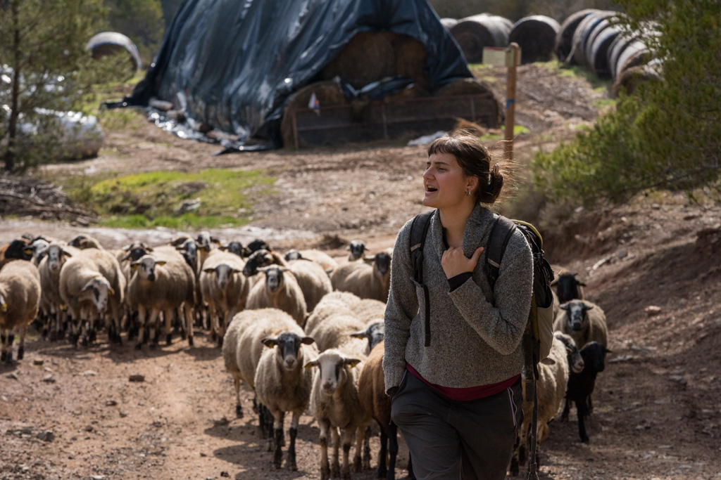 Dones, joves i pageses. Foto: Marc Puig i Pérez
