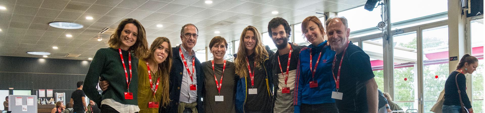 Foto archivo: Participantes del Campus Internacional de Escuelas de Fotografía del Festival Visa pour l