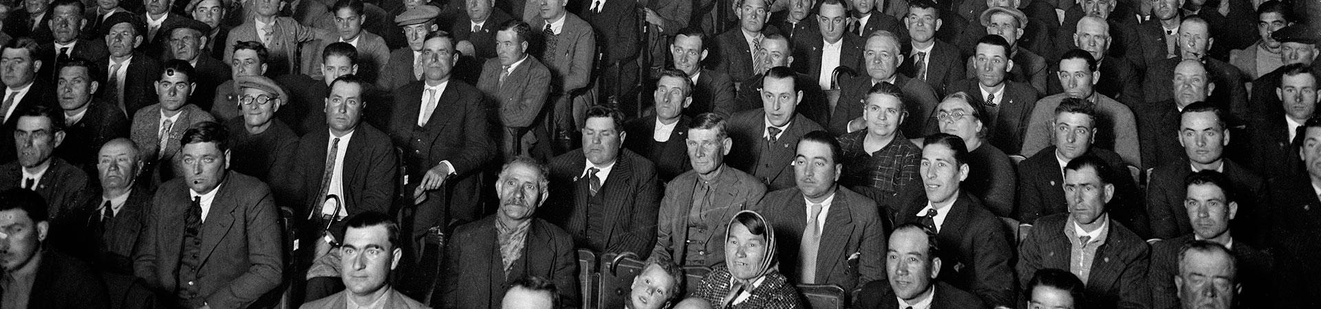 Público en el teatre Romea. Barcelona, años 20-30. Col. Merletti / IEFC