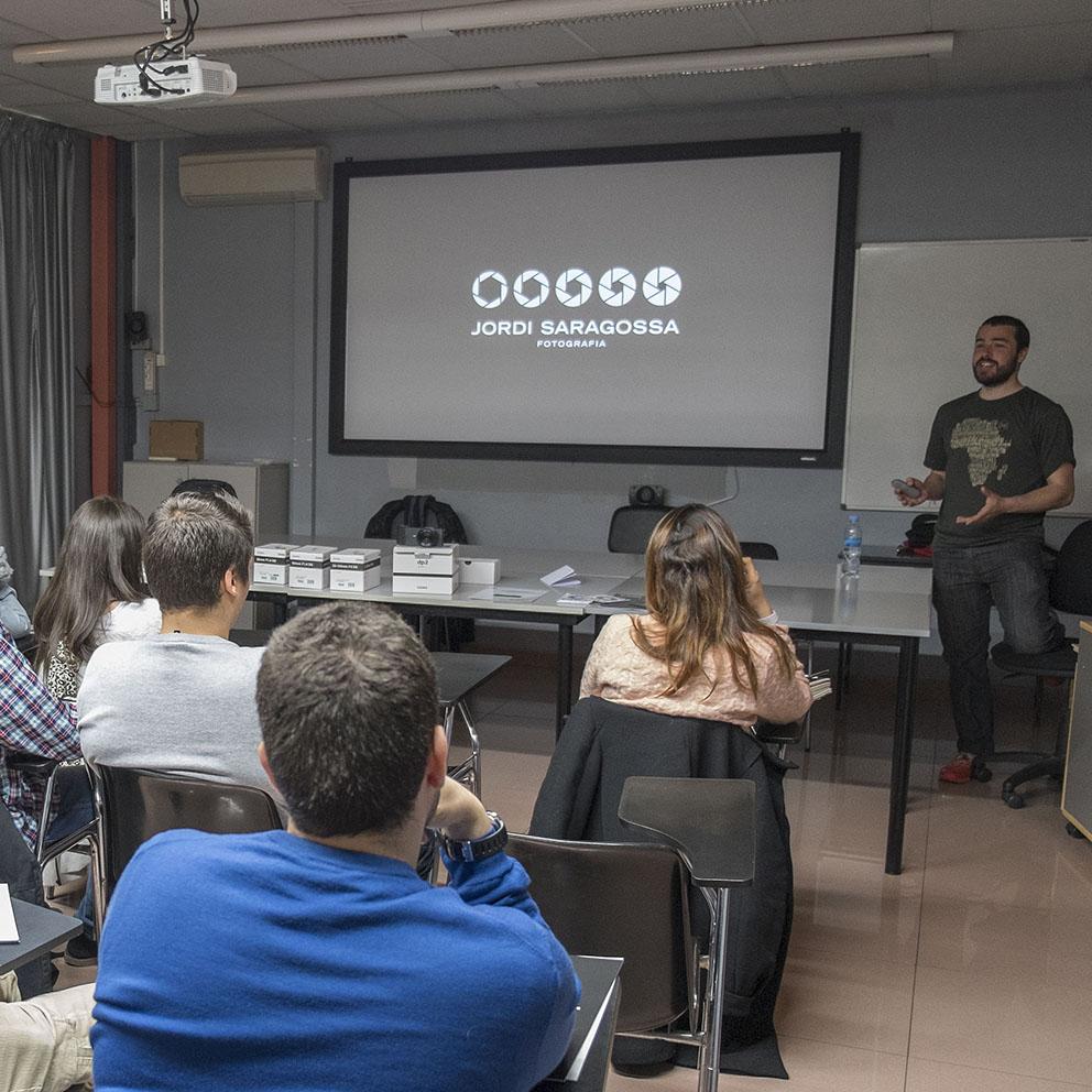 Conferencia Jordi Saragossa