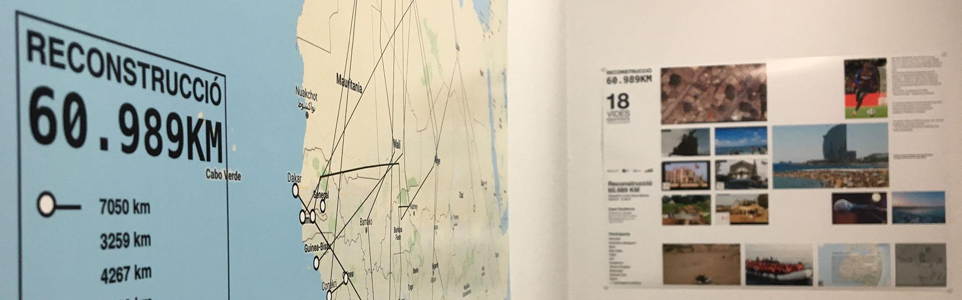 Reconstrucción. 60.989 km. Exposición en el IEFC