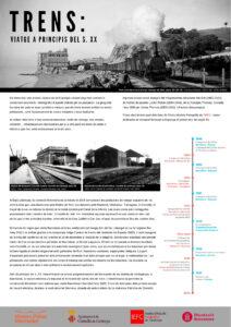 Trens: Viatge a principis del segle XX