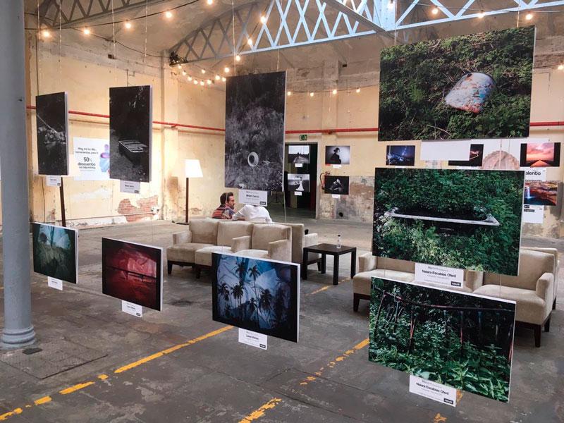 Exposició de l'IEFC al Blipoint Festival