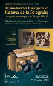 III Jornadas sobre Investigación en Historia de la Fotografía