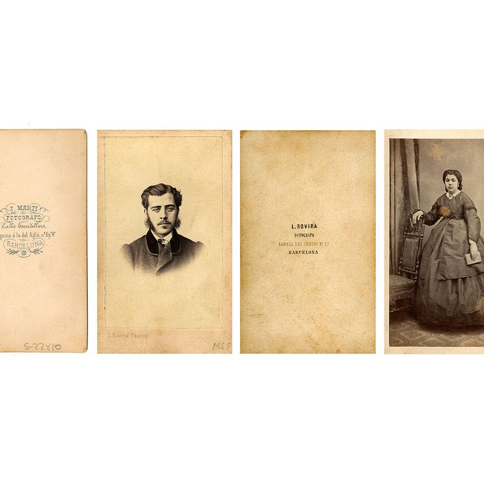 Col·lecció Cartes de visite / IEFC