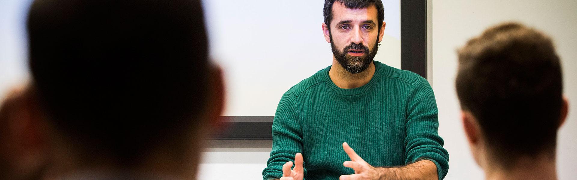 Jordi Borràs. Foto: Pere Virgili