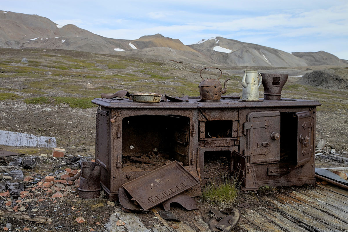 Svalbard. Camp Mansfield. Norwegian archipelago in the Arctic Ocean (2012). Foto: Enriqueta Gradailla Vilamú