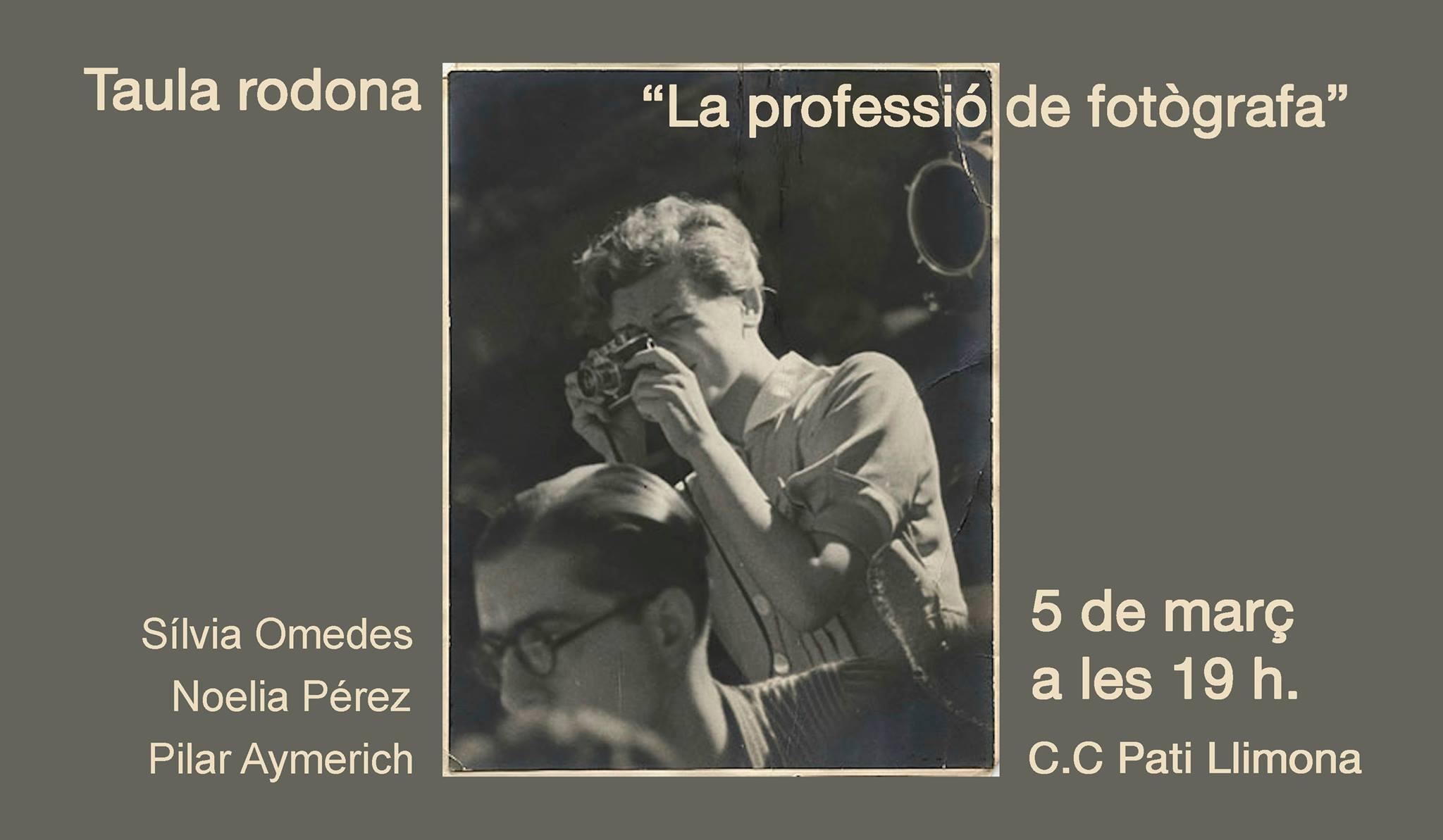 Taula rodona: La professió de fotògrafa