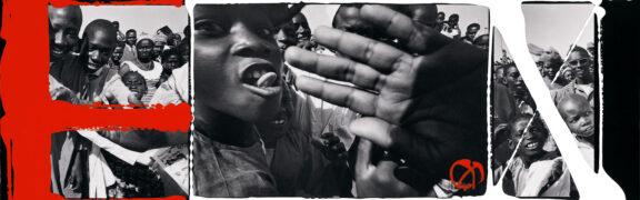 School's Out, Dakar 1963 (painted 2000). Foto: William Klein