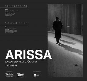 L'exposició Arissa. La sombra y el fotógrafo. 1922-1936 itinera a Vitoria