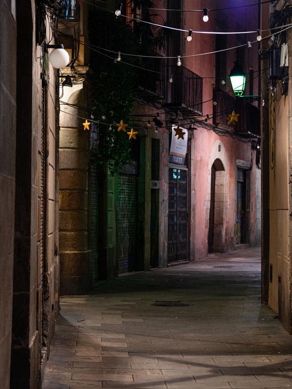 Barcelona dormida. Foto: Guillermo Cardozo