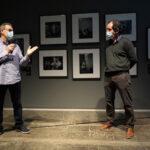 Eduard Bertran, director IEFC, i Pepe Font de Mora, director Foto Colectania. Foto: Cristina González