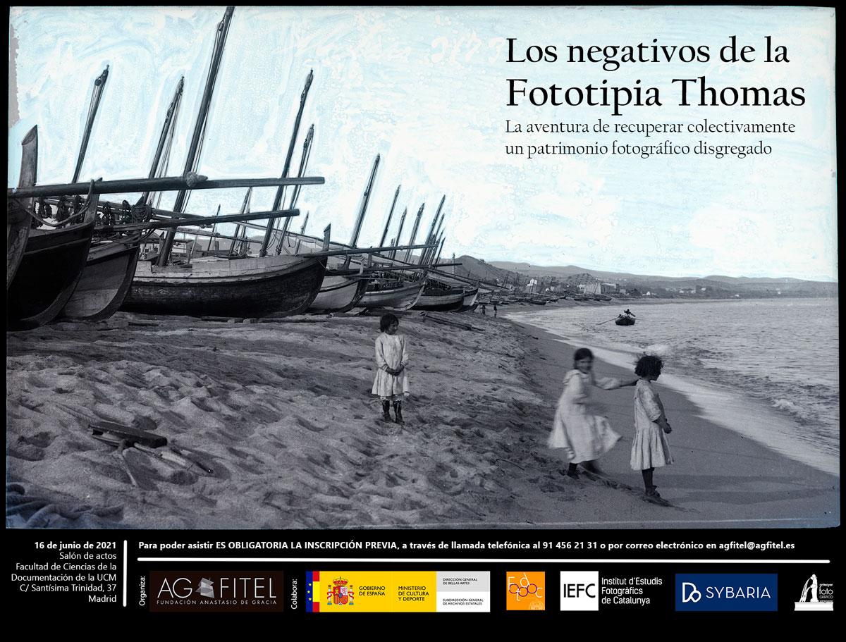 Jornada Los negativos de la Fototipia Thomas